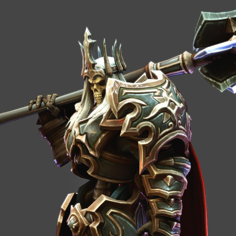 Game art characters erik mckenney 2019 - Heroes of the storm space lord leoric ...
