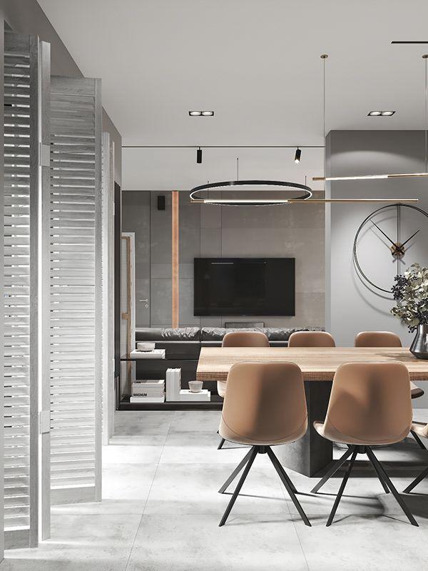 Autodesk Room Design: Gray Space On Behance In 2020