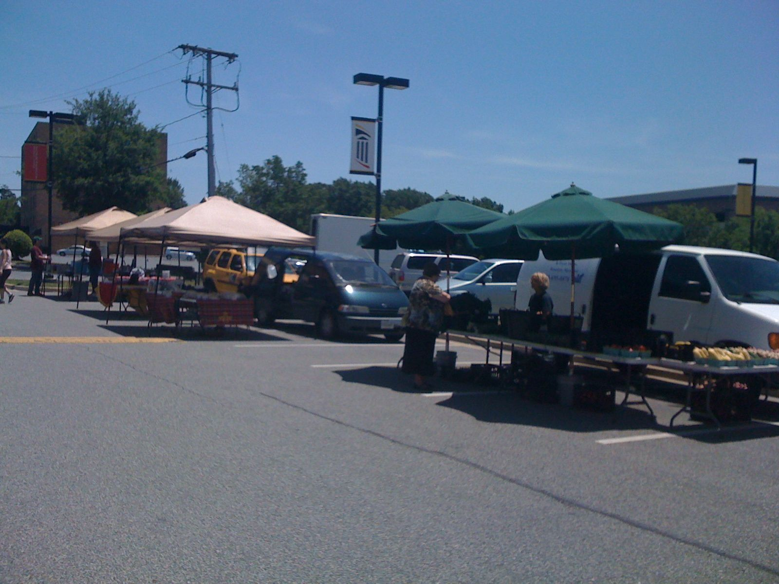 Weekly farmers market starting saturday august 4th