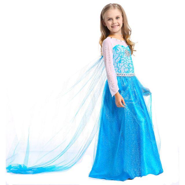 Beste Qualität Baby Mädchen Elsa Kleid Kinder Baby Schnee Königin ...