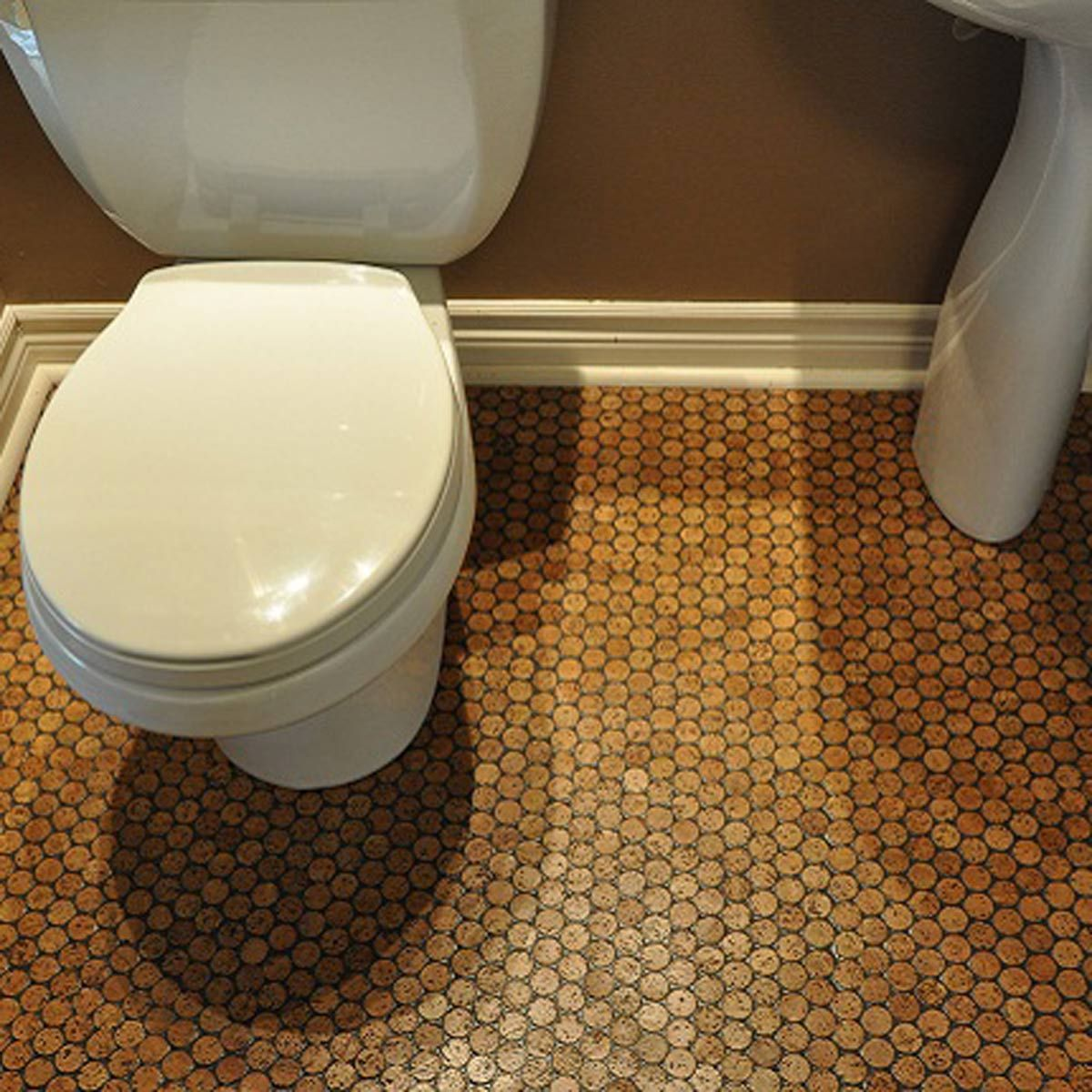 Recycled Building Materials Made From Trash Cork Flooring Mosaic Flooring Bathroom Flooring Options