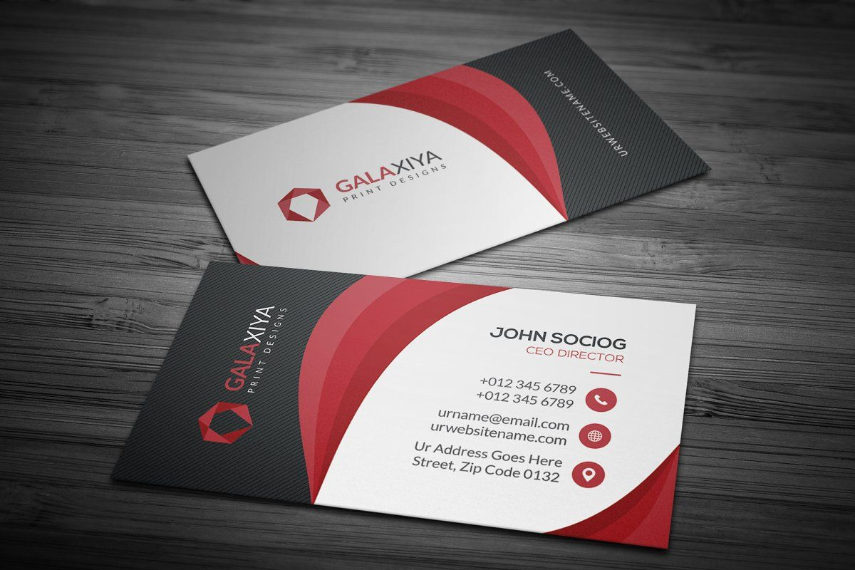 Modern Corporate Business Cards Business Cards Creative Templates Business Cards Creative Create Business Cards