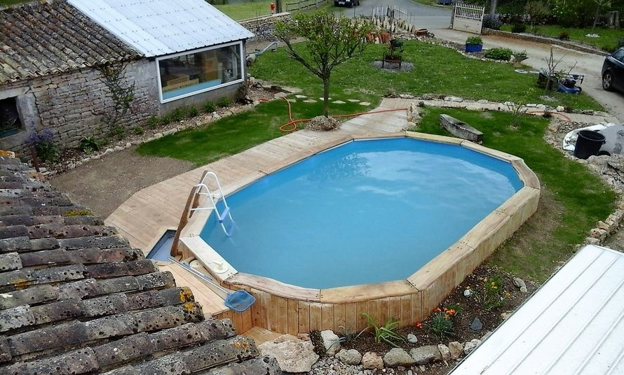 Diy Pallet Wood Swimming Pool Pallet Patio Pallet Patio