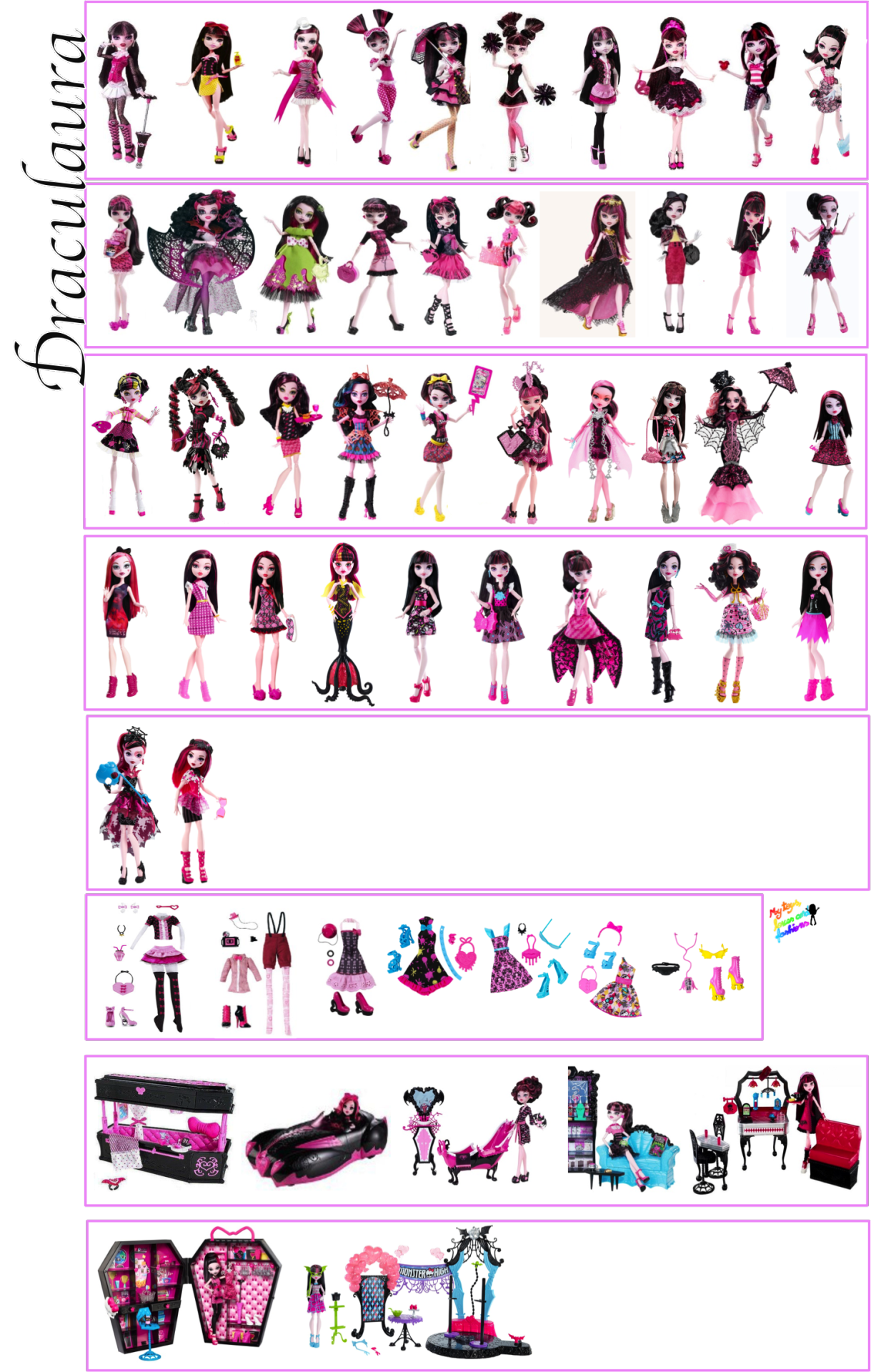 Following My Dreams Updated All The Character S Doll