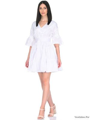 vestidos blancos para playa Vestidos Pinterest
