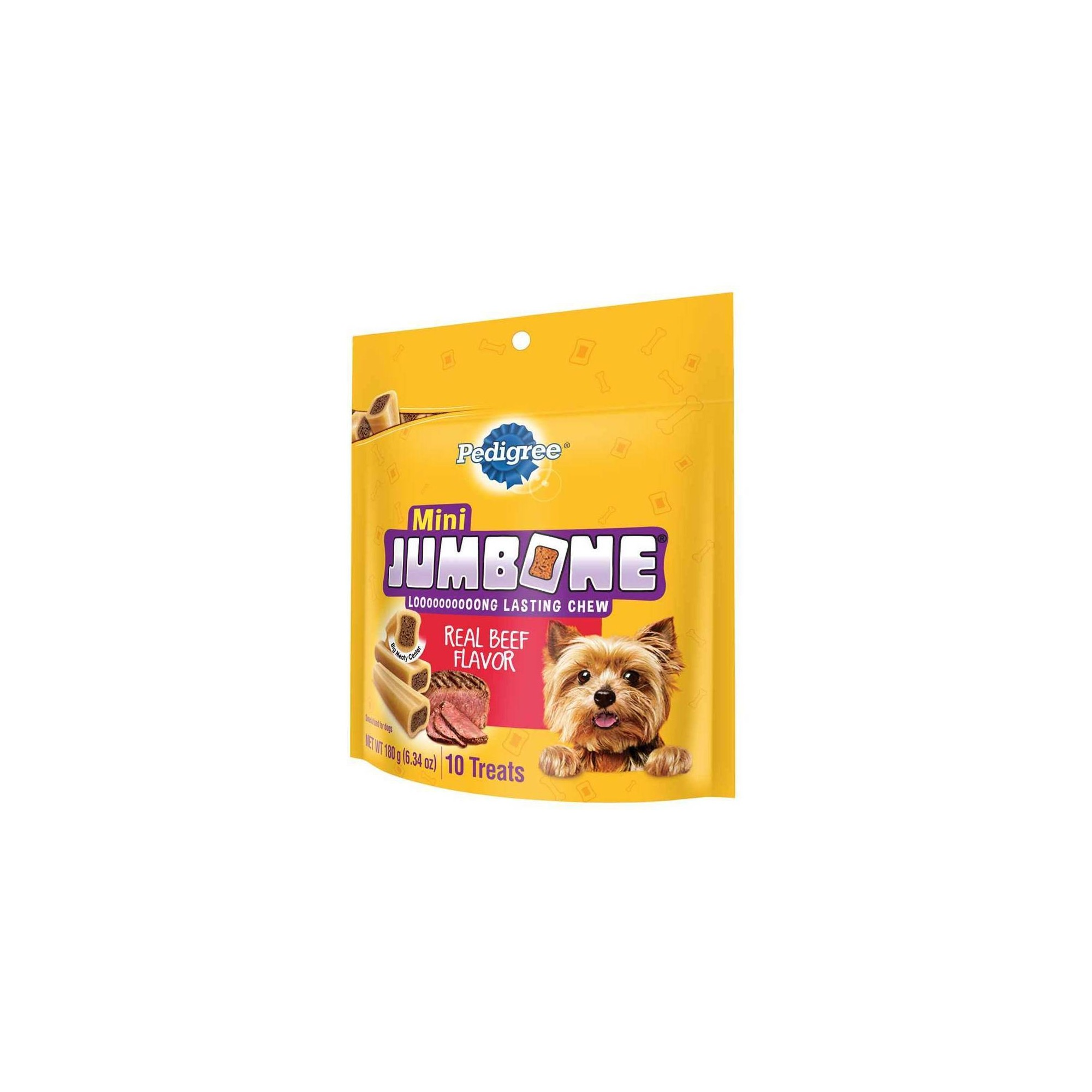 Pedigree Jumbone Mini Bones Mini Snacks For Dogs 10ct Dog