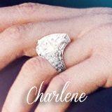 charlene s engagement ring monaco s royal family
