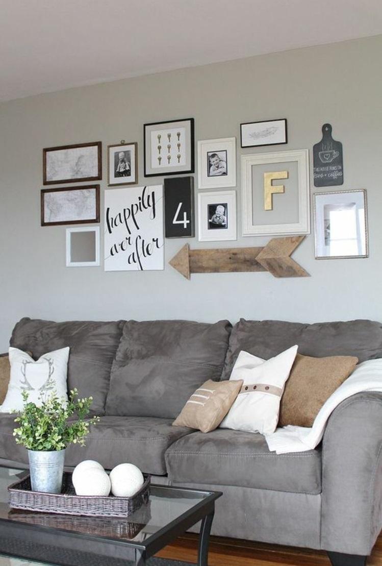 Wohnzimmer Bilderwand Gestalten Ideen In 2020 Home Decor