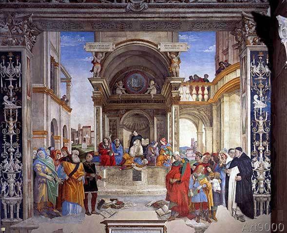 Fra+Filippo+Lippi+-+The+Triumph+of+Thomas+Aquinas