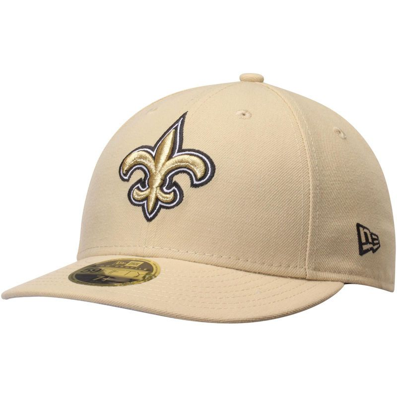 d83df77b New Orleans Saints New Era Omaha Low Profile 59FIFTY Structured Hat ...