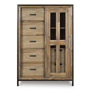 Shady Grove Wood and Metal Armoire