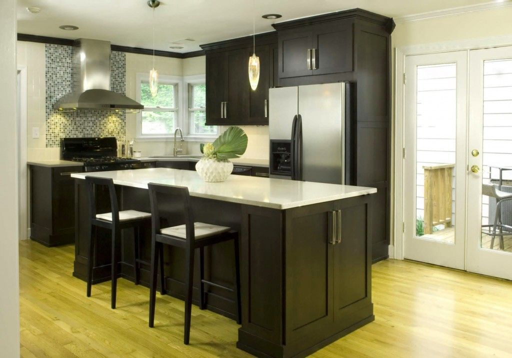 decoracion de cocinas modernas pequeñas blanco y negro | dulze ...