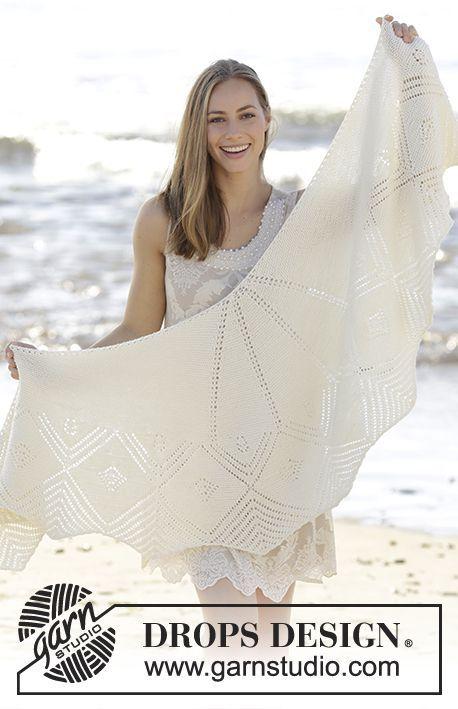 Free Pattern | chales | Pinterest | Chal, Chales de punto y Ropa linda