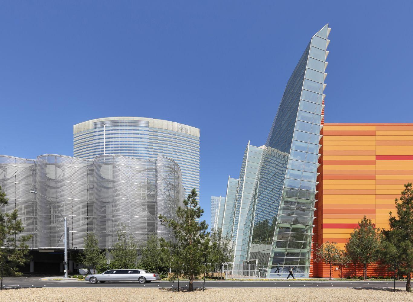 Gallery Of Aria Resort And Casino Pelli Clarke Pelli Architects