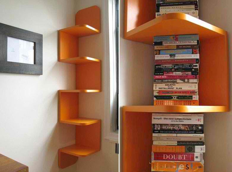 Beautiful 14 Best Corner Shelf Designs