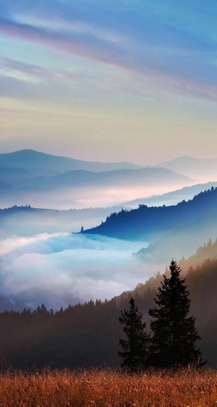 Layers Of Fog In Blue Mountains Landscape Photography Nature Winter Landscape Photography Winter Landscape