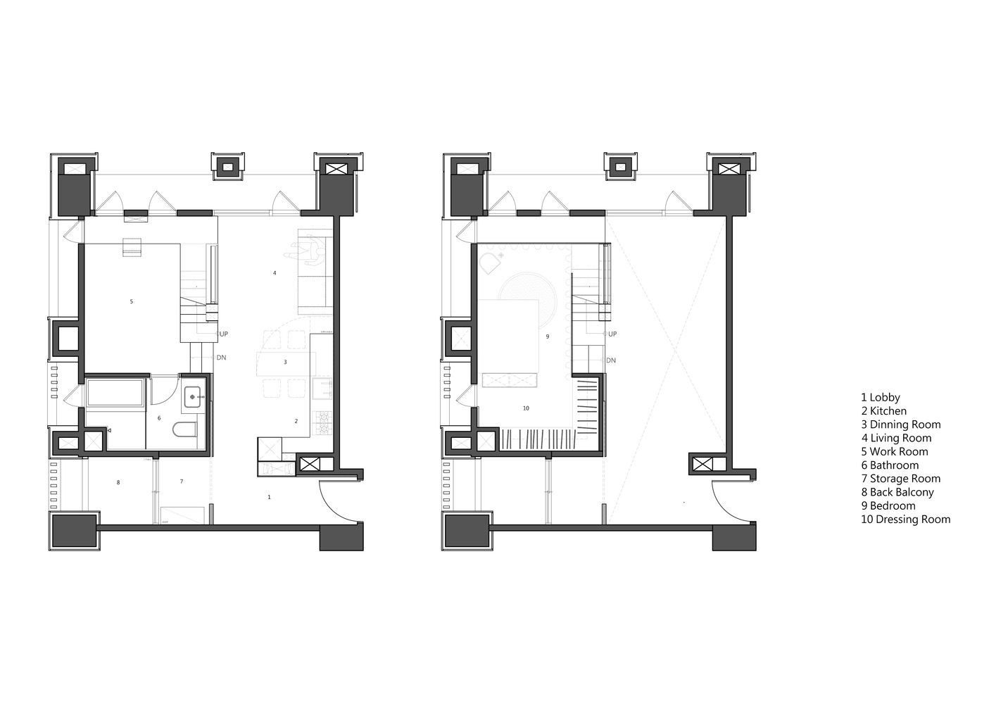 Gallery Of Apartment X Kc Design Studio 16 Tiny Apartment Floor Plans Kc Designs