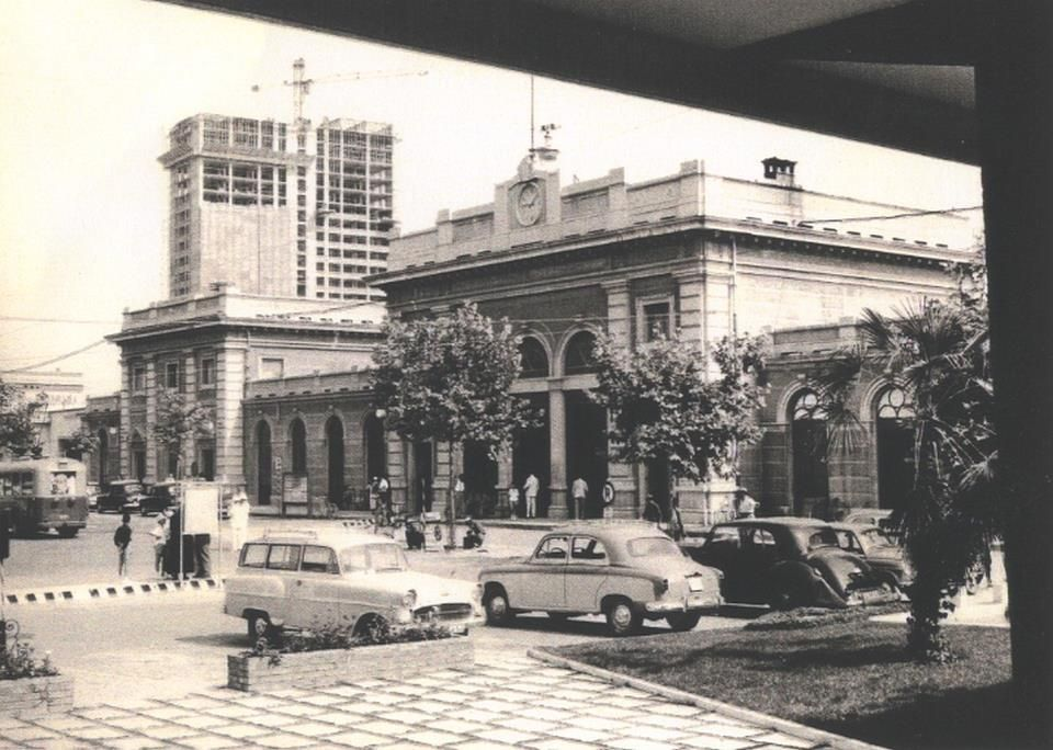 Stazione di Rimini Street view, Travel, Street