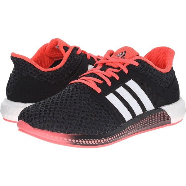 Womens Shoes adidas Running Solar Boost Black/White/Pink