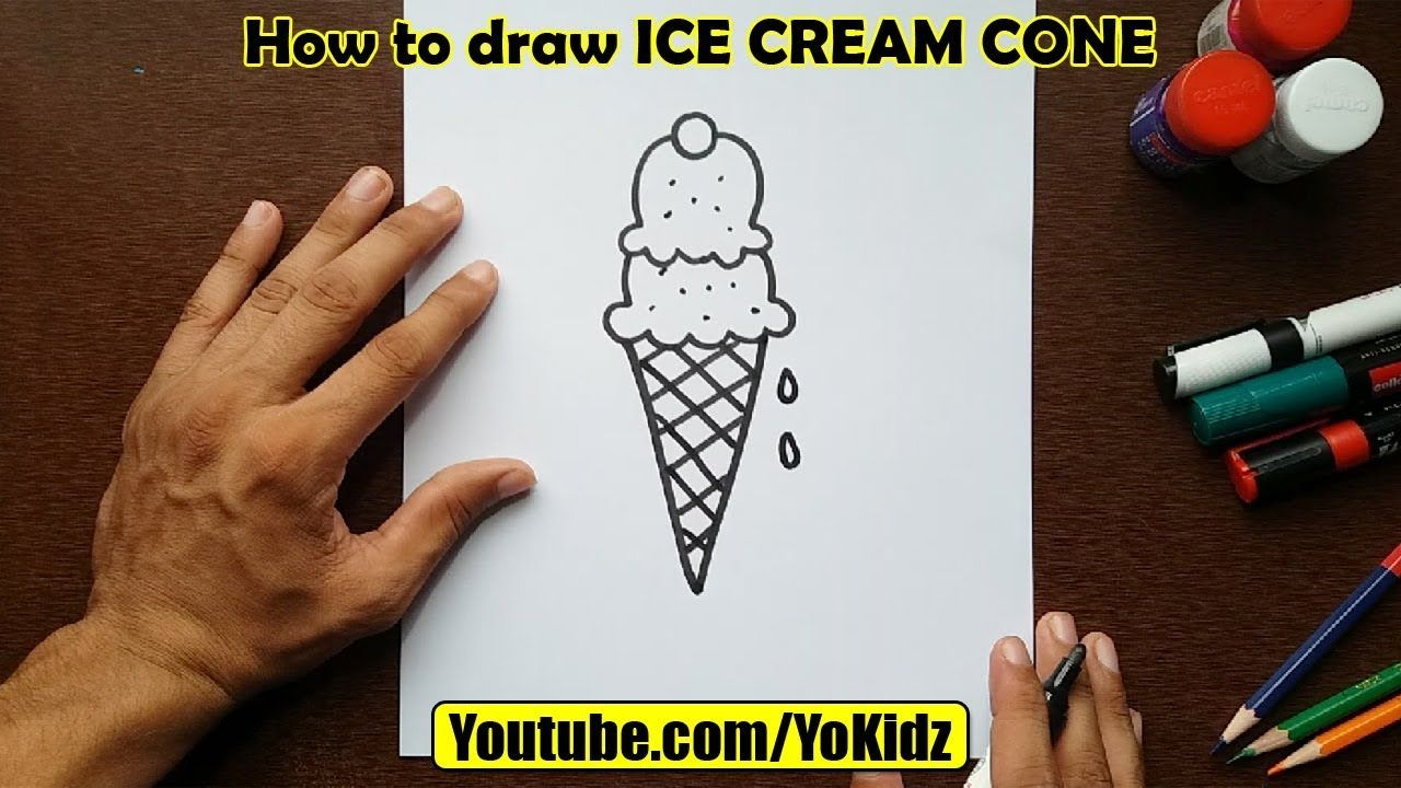 Pin By Stacy Short On Art Completed Draw Ice Cream Ice Cream - how to draw builderman roblox youtube