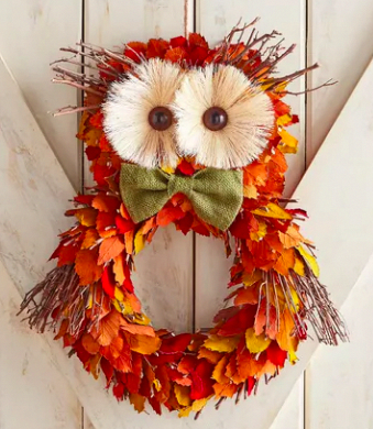 Where to Buy Gorgeous Fall Wreaths for Almost Any Budget #fallwreaths
