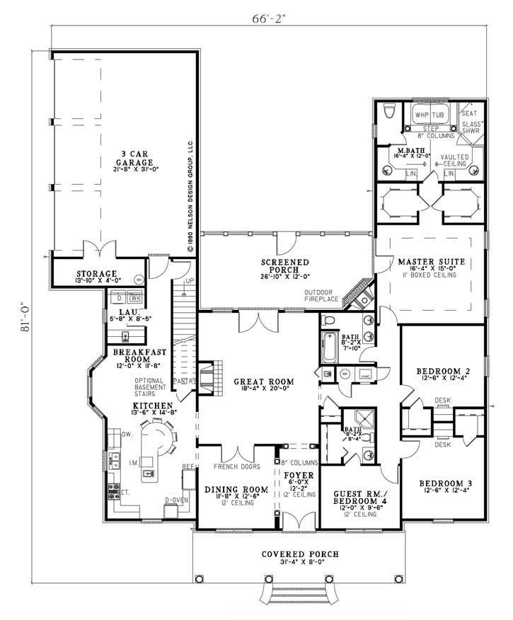 Nelson House Plans Numberedtype