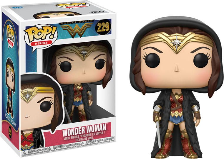 Vinyl Figure NEW IN STOCK WONDER WOMAN NYCC FALL 2018 EXCLUSIVE Pop Funko Pop