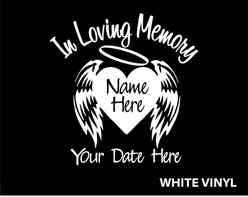 Car Window Decals EBay Decal In Memory Of Matthew Pinterest - Car window vinyl decals custom
