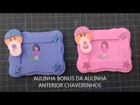 DIY - CHAVEIRINHO LEMBRANCINHA CHÁ FRALDA/CHÁ BEBE -ARTESÃ ISABEL SILVA - YouTube