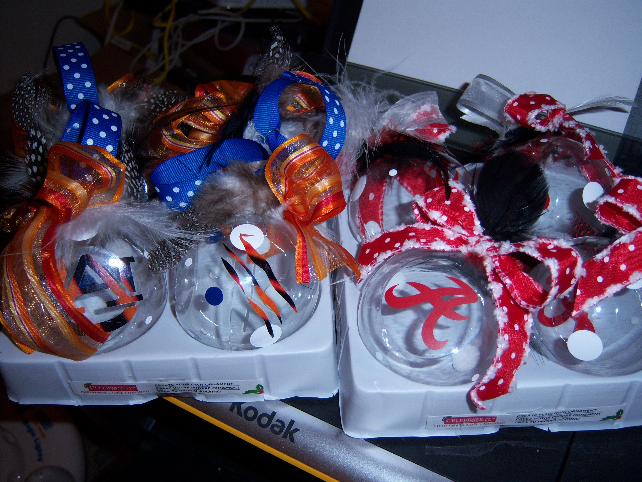 alabama and auburn ornaments | All things christmas, Gifts ...