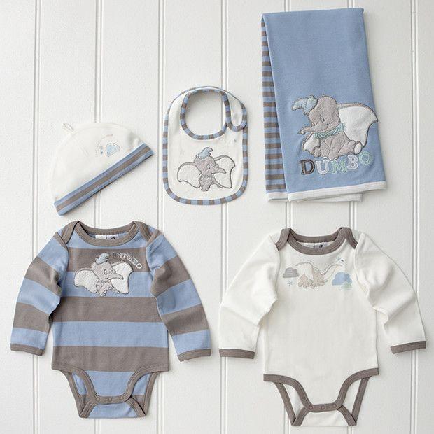 5c452fa68d9eb $49 baby disney Dumbo | Disney Dumbo 5 Piece Layette Set - Blue | Target  Australia