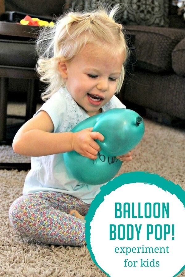 The Sneaky Science Behind Your Childs >> Balloon Body Pop Experiment For Kids Hoawg Science Experiments