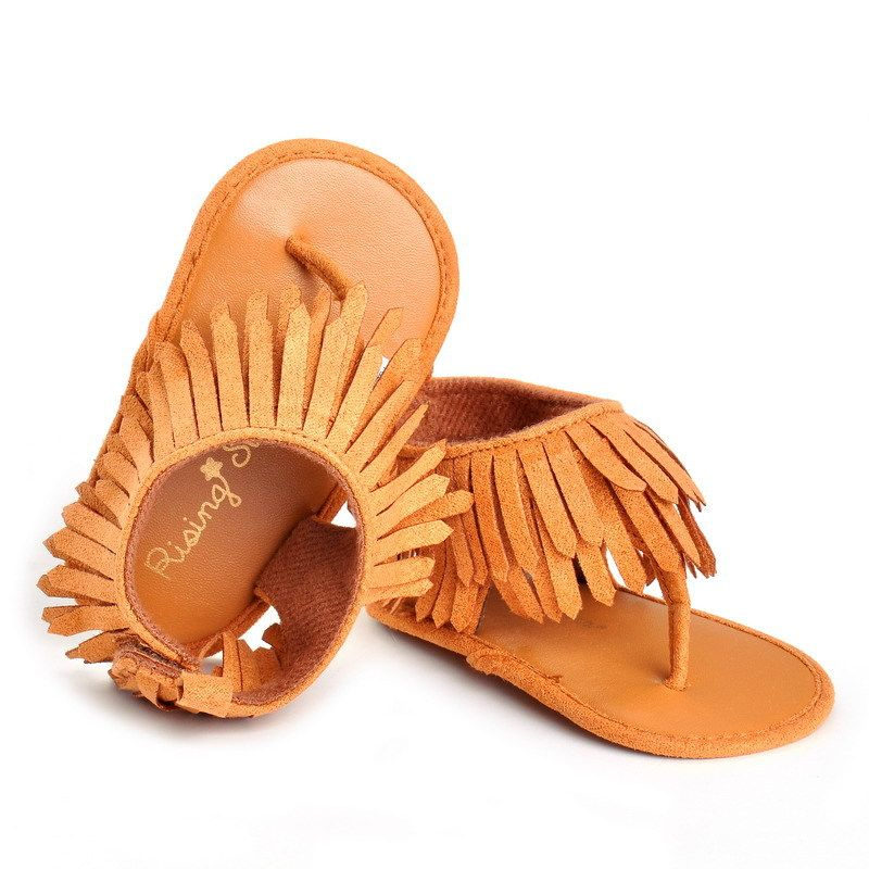 bb3bf60f5f5610 Click to Buy    Hot Sell 2017 New fashion tassel summer baby sandals ...