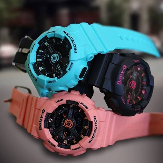 ce01f713e29 Baby-G neon street fashions featuring the BA111-1A.