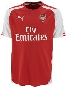 a4a793514 Arsenal Home Shirt 2014-2015 - their very first ever kit with Puma. Arsenal