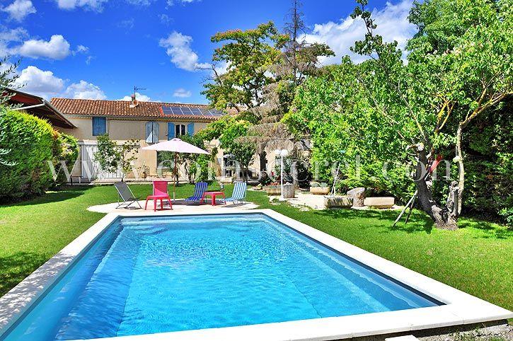 Châteaurenard, location d\u0027un mas provençal avec piscine privée, pour - location vacances provence avec piscine
