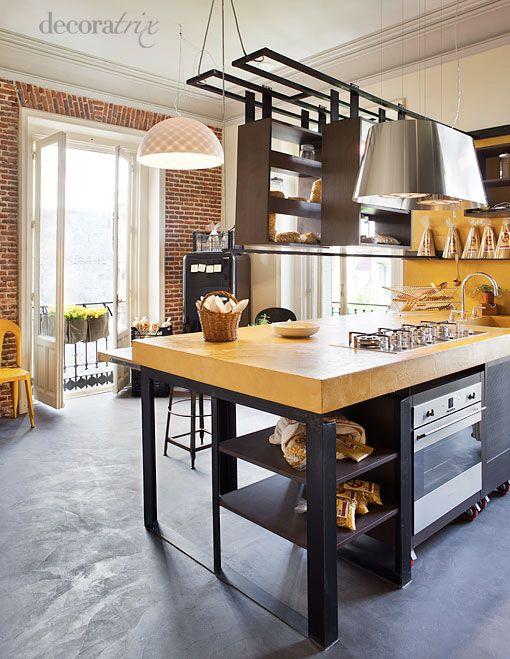 Love them hanging shelves cocina decoratrix decoraci n dise o e interiorismo p gina 5 Paginas de decoracion de casas