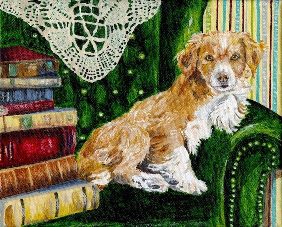 The Dog House Chery Holmes Design Illustration Dogs Dog