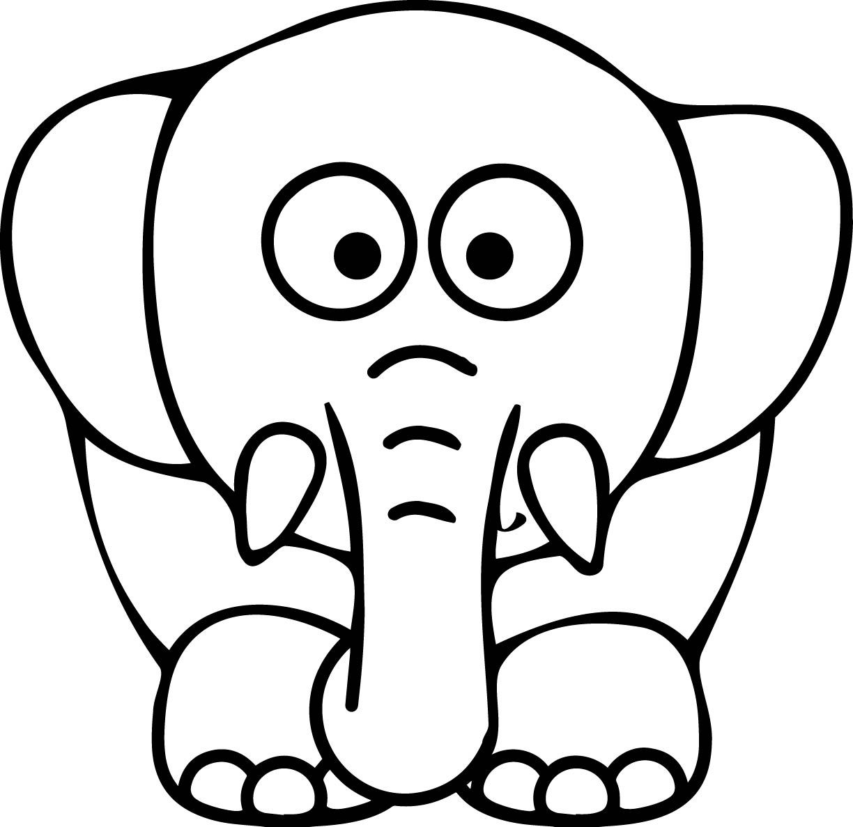 23+ Printable animals coloring pages elephant information