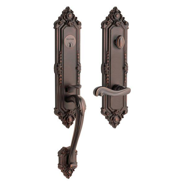 Baldwin Hardware 6426 Kensington Set Front Door Handle Furniture
