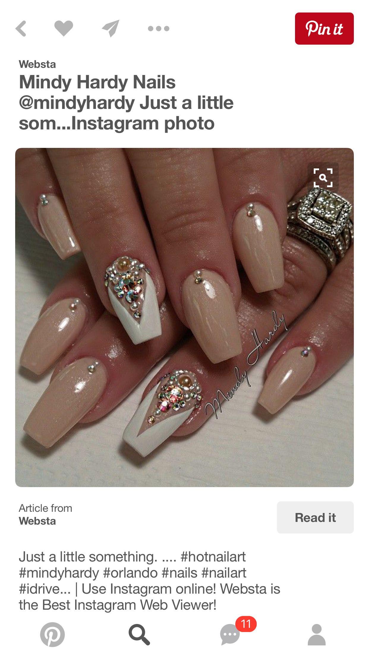 Pin by cheree cloud on My mani inspo✨ | Pinterest | Short nails