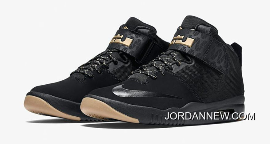 Buy Brand New Nike Air LeBron Akronite Black Metallic Gold Online from  Reliable Brand New Nike Air LeBron Akronite Black Metallic Gold Online  suppliers.