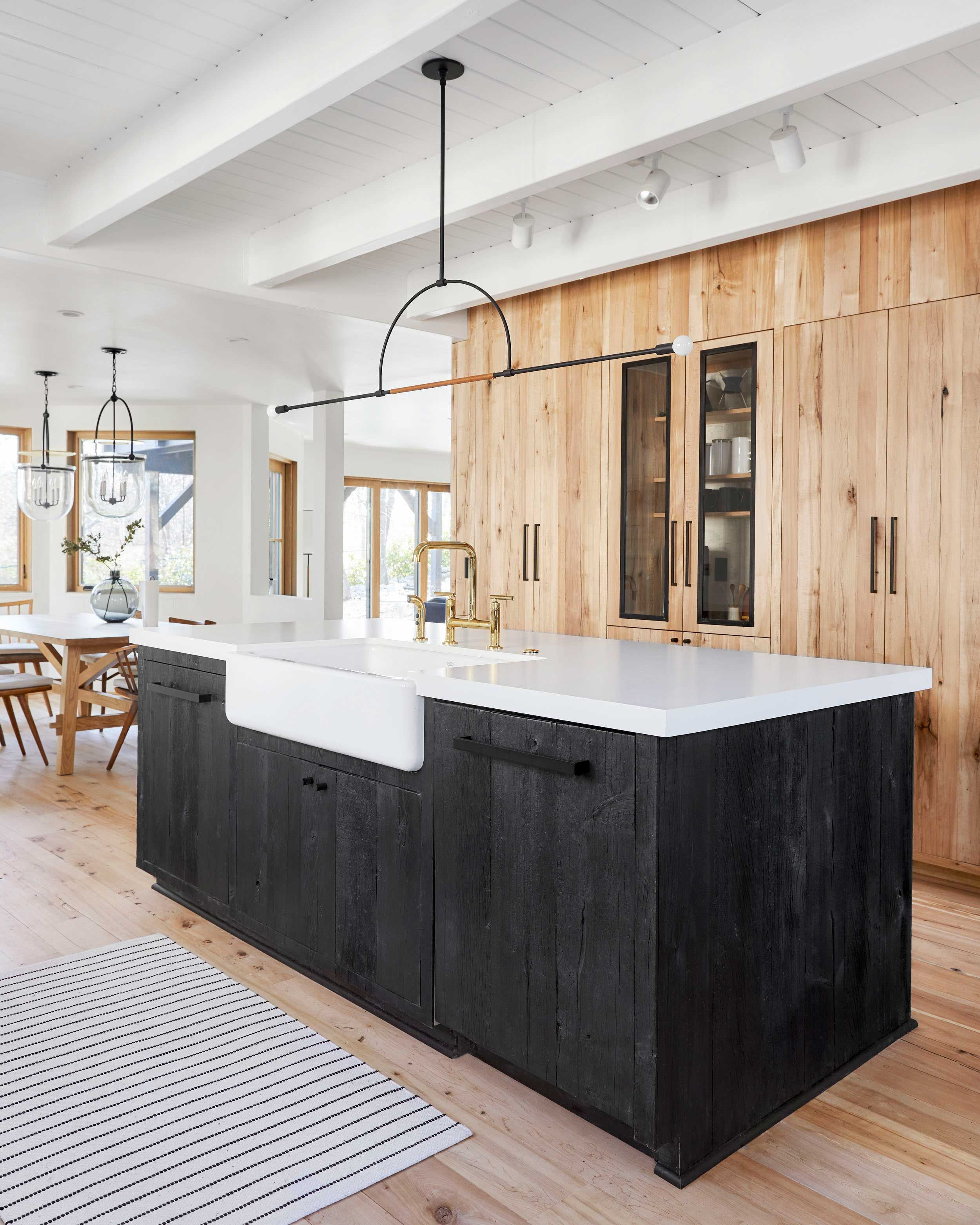Before After Our Scandinavian Inspired Mountain House Kitchen Design Scandinavian Kitchen Kitchen Remodel