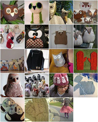 more owl crafts
