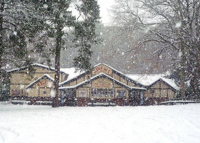 The Kinema in the Snow. Taken December 2010