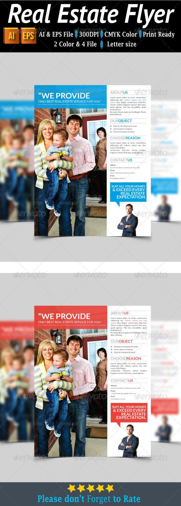 Real Estate Flyer #graphicriver