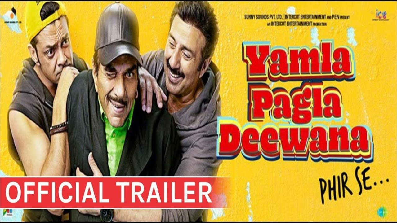 Image result for Yamla Pagla Deewana Phir Se Official Trailer images