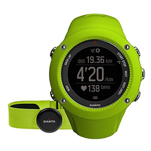 Suunto Ambit3 Run Sport Watch w  Heart Rate Monitor (Lime - heart rate chart template