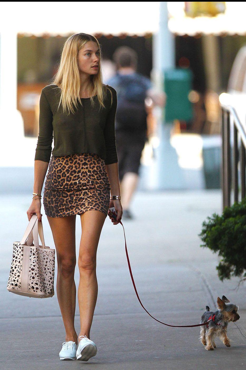 Jessica Hart  Sweaters  Animal Print  Skirts  Totes  1eba67e12