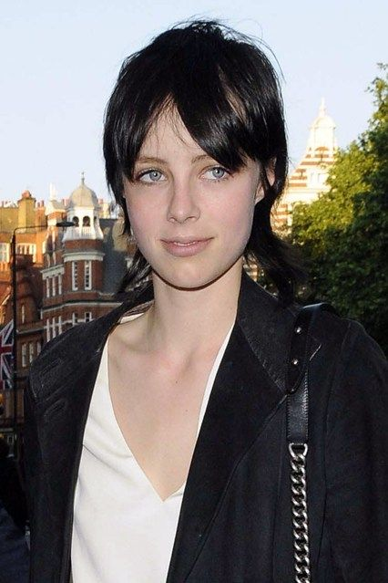 Edie Campbell  It was quite the style transformation when Edie Campbell swapped her long, Sixties hair for a choppy black crop - but weeks later she appeared on more catwalks than ever at the autumn/winter 2013-14 shows.